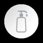 Odstraňte průhledné víčko a pumpičkou si nadávkujte 1-2 malé kapky séra.